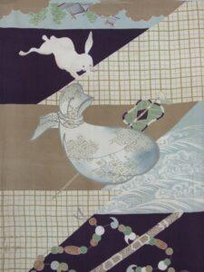 因幡の白兎〔長襦袢 平絹〕