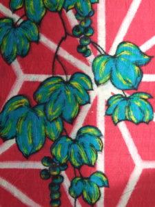 麻の葉に葡萄